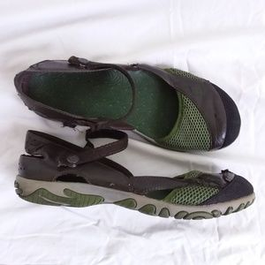 00dac72a4b9d37 Teva Green Brown WESTWATER Mary Jane Sandal 8